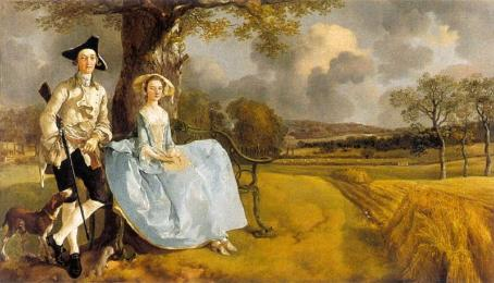 Mr. & Mrs. Andrews - Thomas Gainsborough