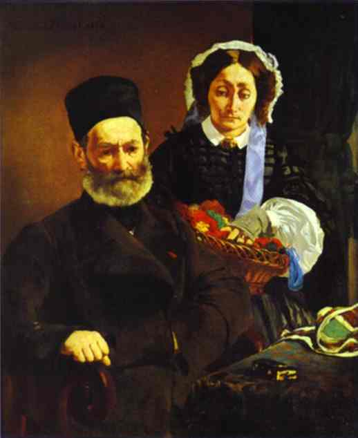 Mr and Mrs Auguste Manet - Edouard Manet