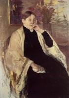 Mrs. Robert Cassatt the Artists Mother - Mary Cassatt