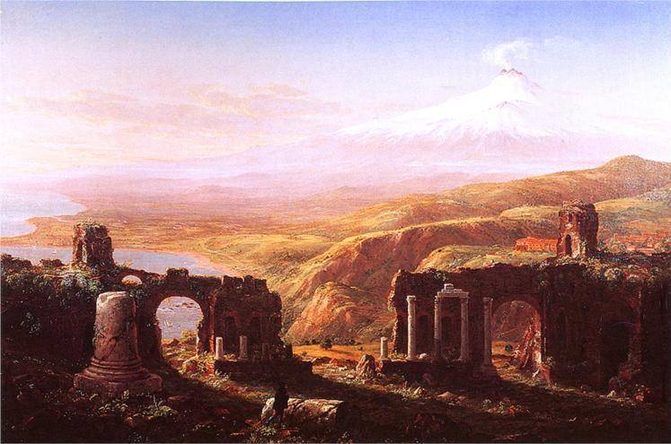 Mt. Etna from Taormina - Thomas Cole