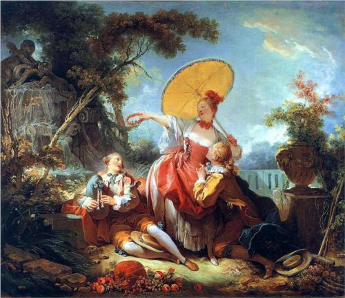 Musical Contest - Jean Honore Fragonard
