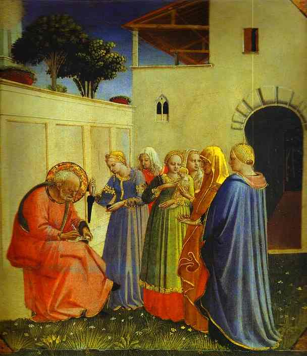 Naming of John - Fra Angelico