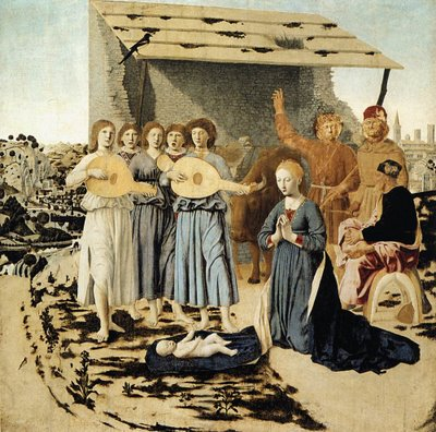Nativity - Piero della Francesca
