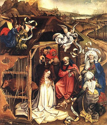 Nativity 1425 - Robert Campin