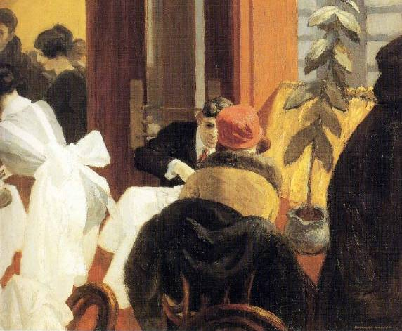 New York Restaurant - Edward Hopper