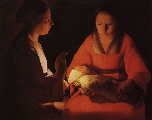 The Newborn Christ - Georges de La Tour