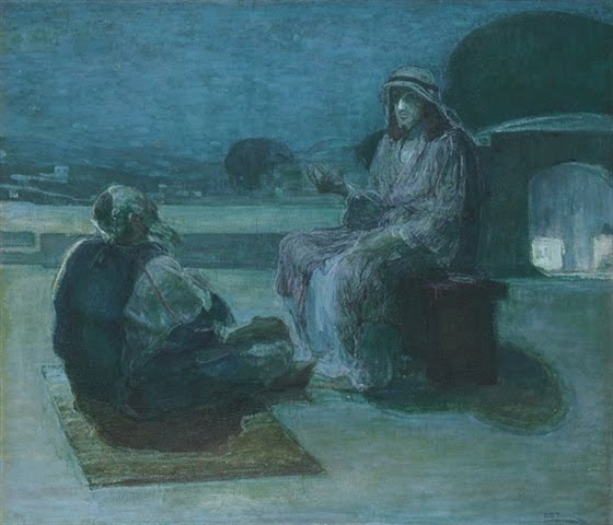Nicodemus Coming to Christ - Henry Ossawa Tanner