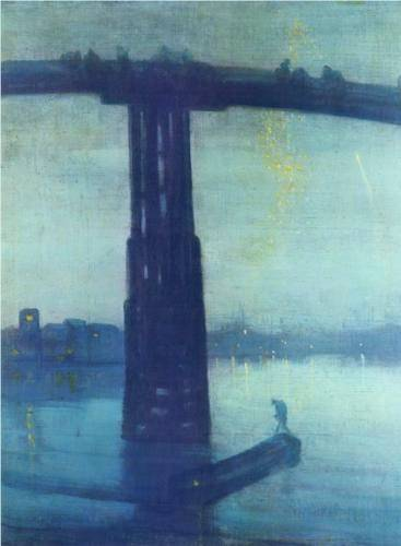 Nocturne in Blue and Gold: Old Battersea Bridge - James McNeill Whistler