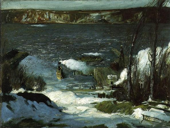 North River - George Bellows