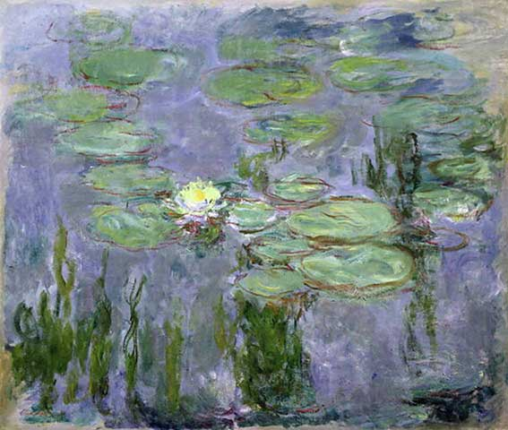 Nympheas 1915 - Claude Monet