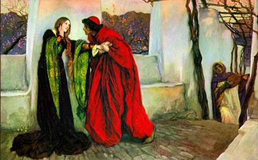 O, Mistress Mine where are you roaming? - Edwin Austin Abbey