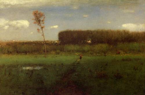 October Noon - George Inness