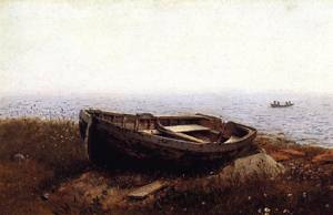 Old Boat - Frederic Edwin Church