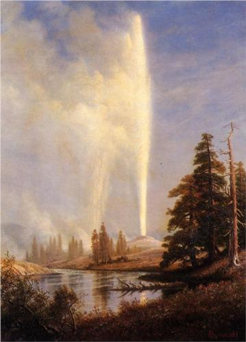 Old Faithful - Albert Bierstadt