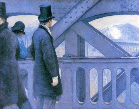 On the Europe Bridge - Gustave Caillebotte