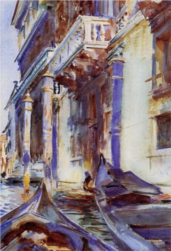 On the Grand Canal - John Singer Sargent