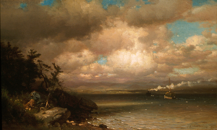 On the Hudson - Arthur Parton