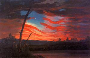 Our Banner in the Sky - Frederic Edwin Church