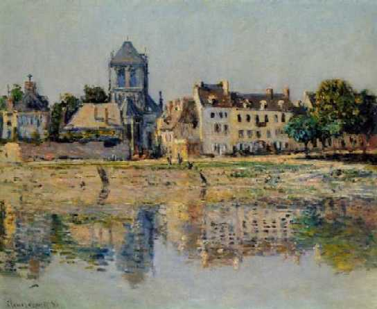 Our Lady Collegiate Church - Claude Monet