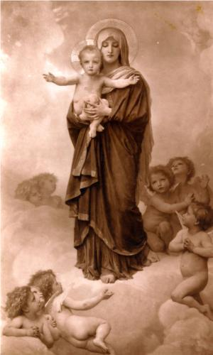Our Lady of the Angels - William Adolphe Bouguereau