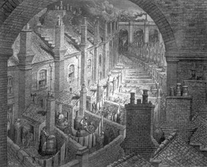 Over London by Rail - Gustave Dore