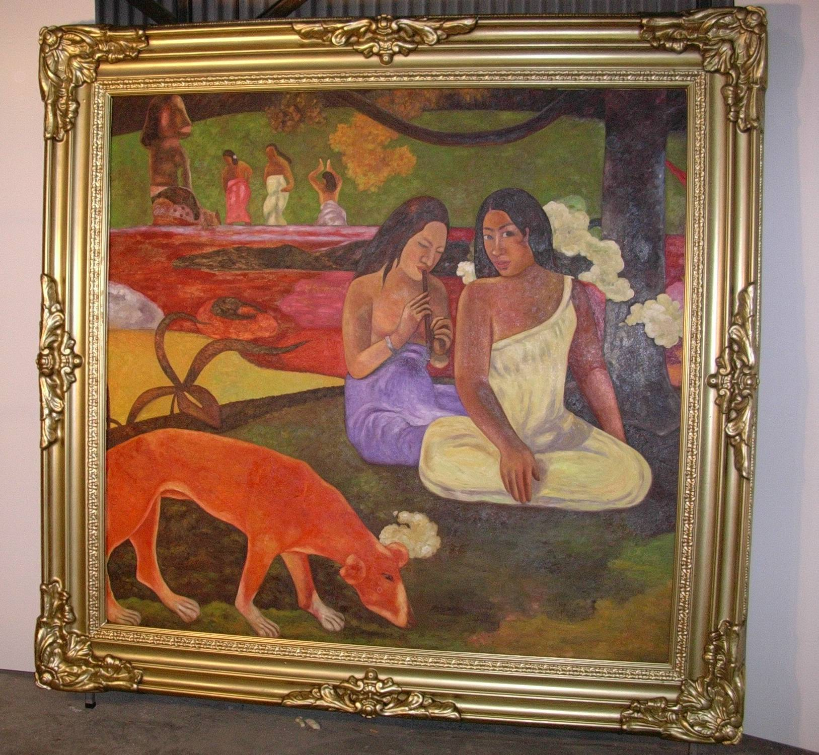 Joyousness (Arearea) - Paul Gauguin