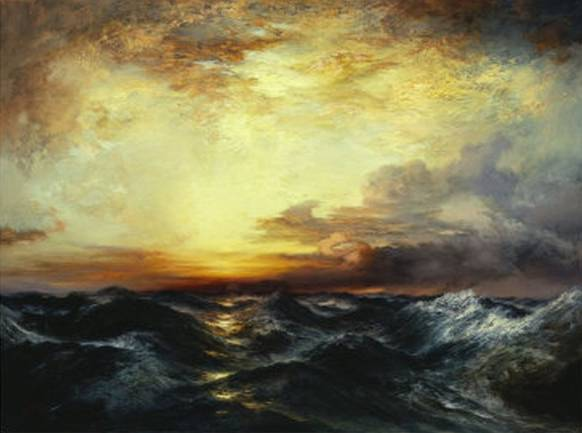 Pacific Sunset - Thomas Moran