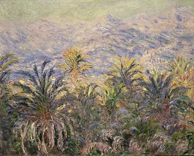 Palm Trees at Bordighera - Claude Monet