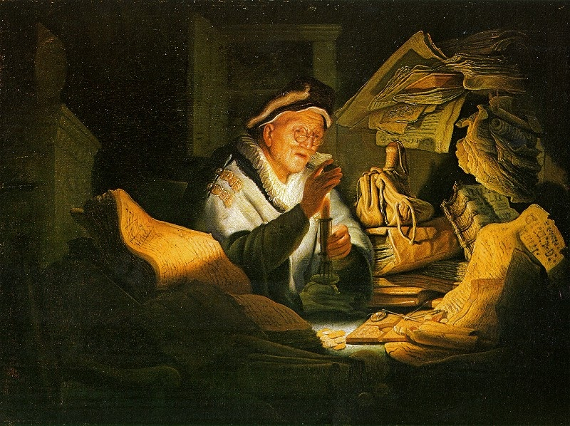 Parable of the Rich Man - Rembrandt van Rijn