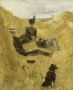 Party in the Country - Henri de Toulouse Lautrec