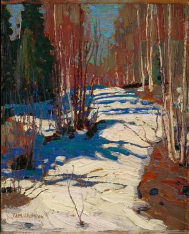 Path Behind Mowat Lodge - Tom Thomson
