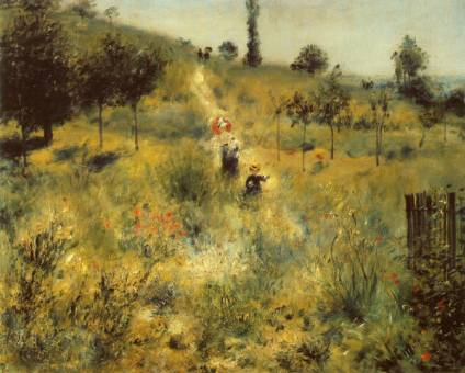 Path through the Long Grass - Pierre Auguste Renoir