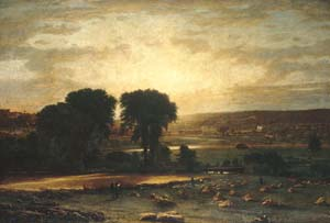 Peace and Plenty - George Inness