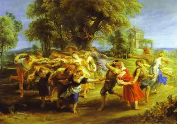Peasant Dance - Peter Paul Rubens