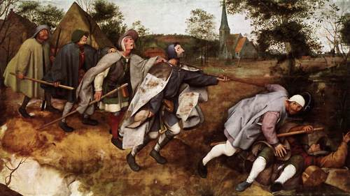 Blind Leading the Blind - Pieter Bruegel
