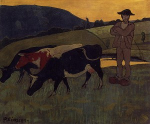Peasant with Three Cows - Paul Serusier