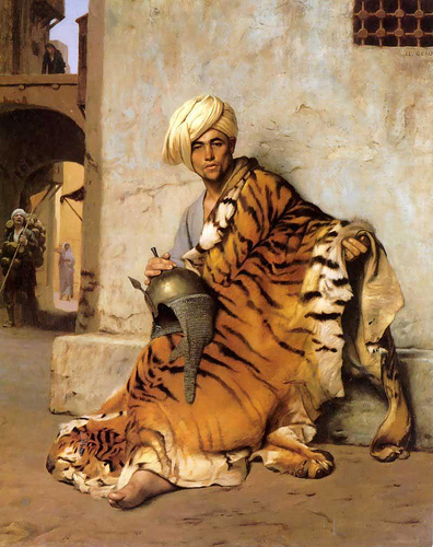 Pelt Merchant of Cairo - Jean Leon Gerome