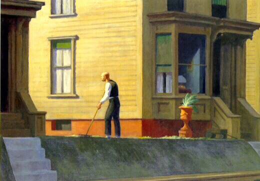Pennsylvania Coal Town - Edward Hopper