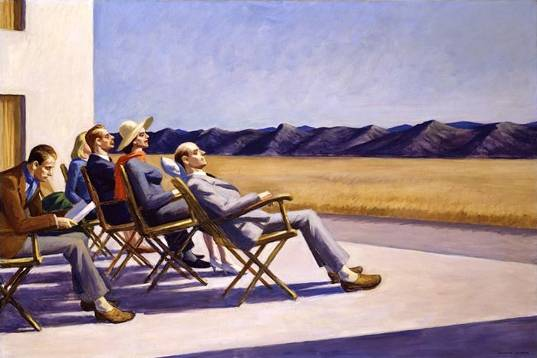 People in the Sun - Edward Hopper