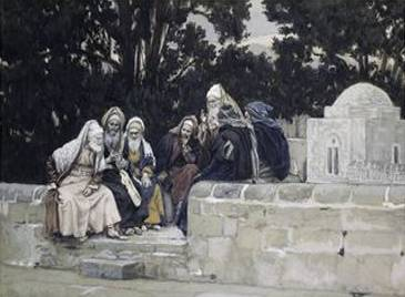 Pharisees and Herodians Take Counsel Against Jesus - James Tissot