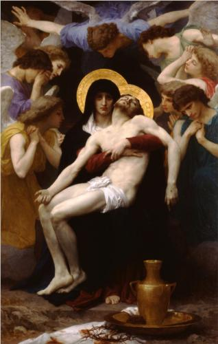 Pieta - William Adolphe Bouguereau