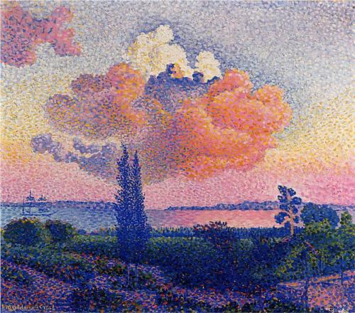 Pink Cloud - Henri Edmond Cross