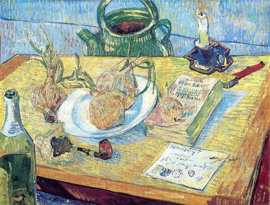 Plate of Onions - Vincent van Gogh