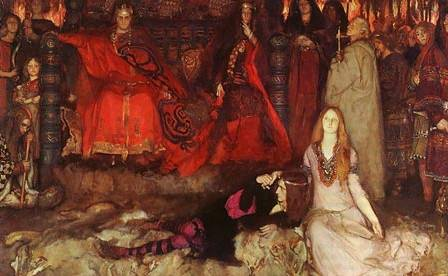 Play Szene in Hamlet - Edwin Austin Abbey
