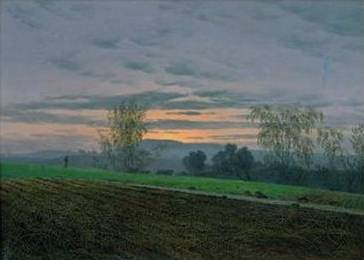 Ploughed Field - Caspar David Friedrich