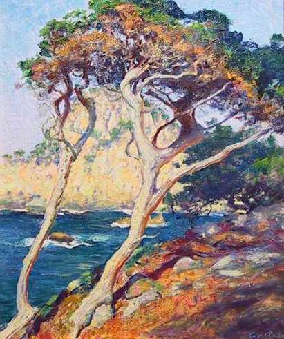 Point Lobos Trees - Guy Rose