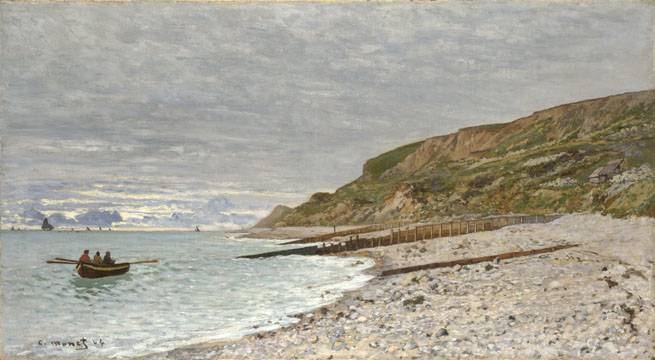 Point of la Hèvre at Sainte Adresse - Claude Monet
