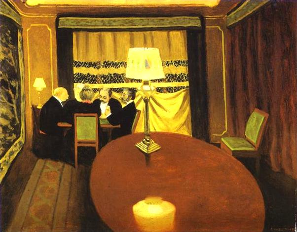Poker - Felix Vallotton