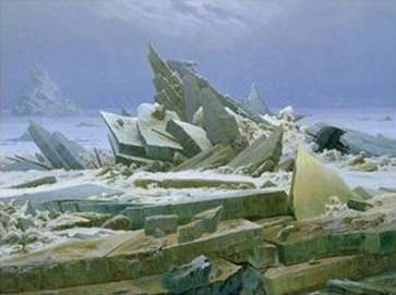 Polar Sea - Caspar David Friedrich