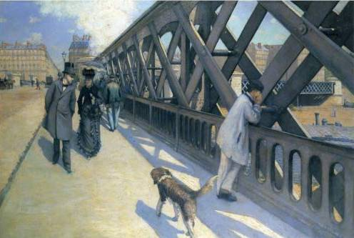 The Pont de l'Europe - Gustave Caillebotte